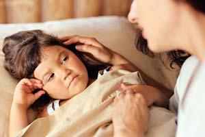 Опасность ангины и её профилактика у детей