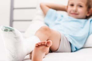 Как справиться с детским переломом?