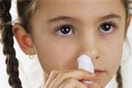 Перелом носа у детей