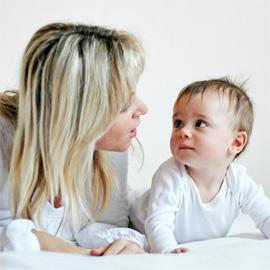 Помогите малышу заговорить. Развитие речи с рождения до года.